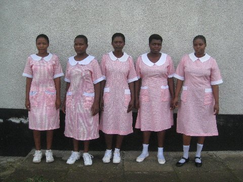 Third year students, Tukuyu School of Nursing