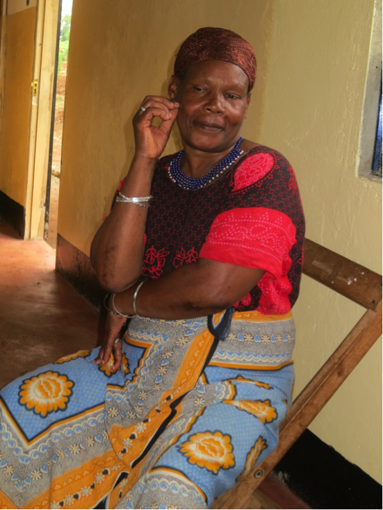 Photo: Traditional healer and midwife