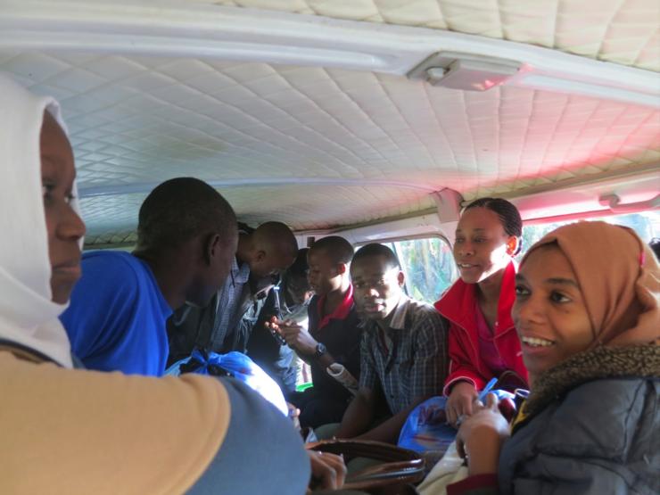 Photos: Tukuyu students leaving for four-week community fieldwork