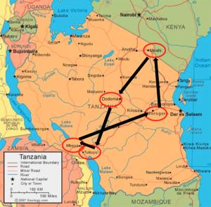 Tanzania travels